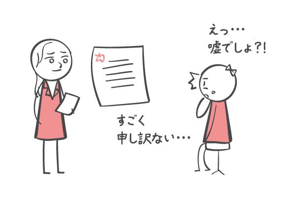 男女の謝る基準の違い
