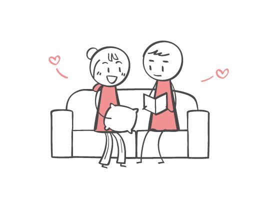 お家デート