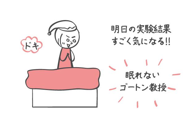 寝不足と恋愛
