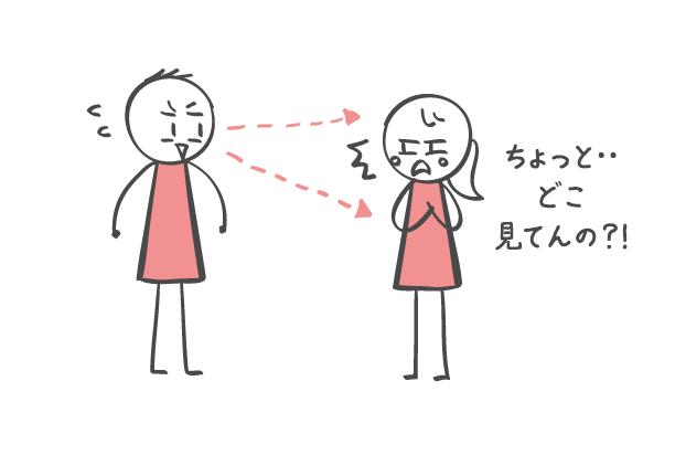 視線を奪われる身体部位