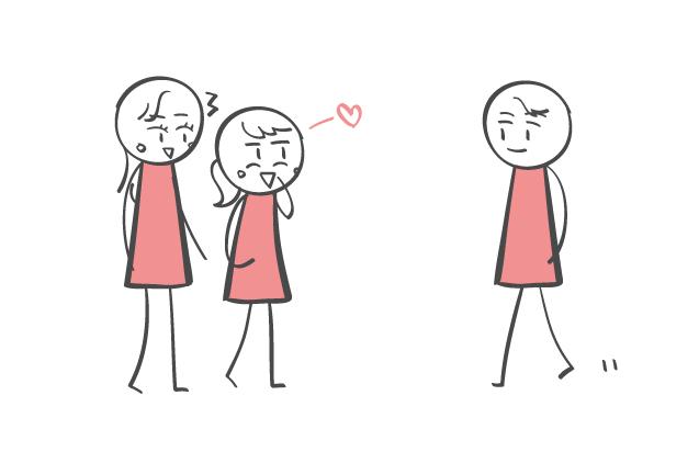 恋に落ちた人の特徴